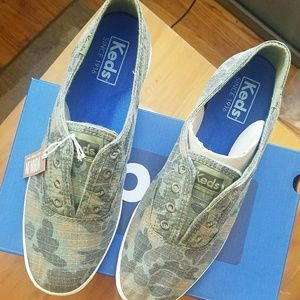 f76022a0d54e Keds Shoes - NEW! Keds Chillax Ripstop Camo Slip-On Sneaker